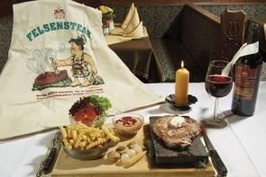"""Felsensteak"" a culinary experience"