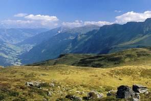fantastic landscape in the Austrian Mountains