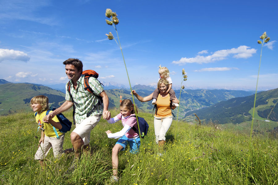 Sports And Nature In Saalbach